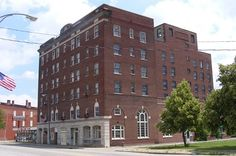 The Ashtabula Hotel in Ashtabula, Ohio.