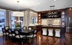 Hospital Home Lottery 2012 - Kitchen & Dining Room - contemporary - dining room - other metro - Atmosphere Interior Design Inc.