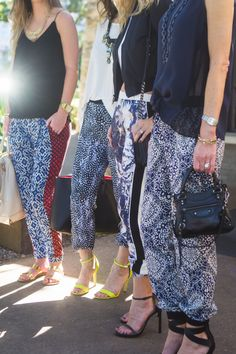 Who says you can't be fashionable when you sleep? Sport some patterned pajama pants for a night or day of comfort!