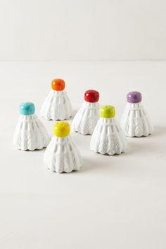 Badminton Salt & Pepper Shaker