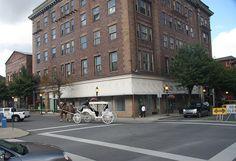 McCreery Hotel & Horse Carriage - Hinton, WV by Ken Allman, via Flickr