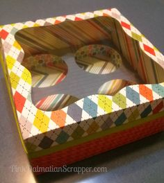 Cupcake Gift Box using Cricut