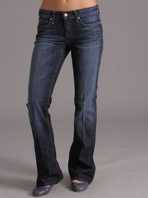 Jeans for a pear shaped body
