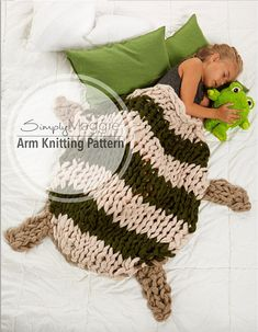 Arm Knitting Pattern
