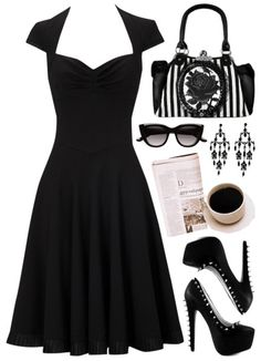 """Black Rose"" Cute & Simple"
