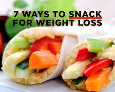 7 Ways to Snack for Weight Loss