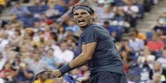 #RogerFederer crashed out of the #USOpen in the fourth round while #RafaelNadal captured his 19th hardcourt win in a row to reach the quarter-finals without having allowed a service break.