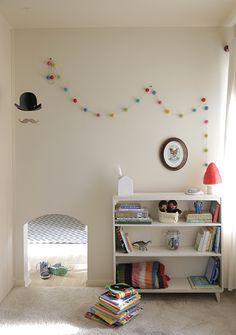 Kids room - Mini doorway - Home of Trina McNeilly - Via Design Mom