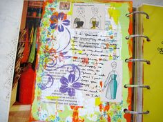 Journal Page Tutorial by Radish Blossoms art journal, journal pages, radish, blossom
