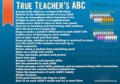 True Teacher's ABC