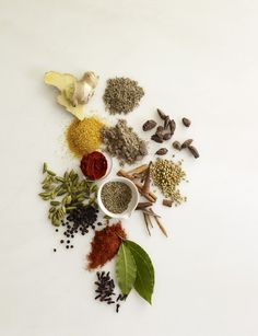 spices, photography by Christopher Baker