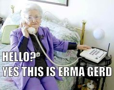 Ha! She looks like an Erma Gerd.