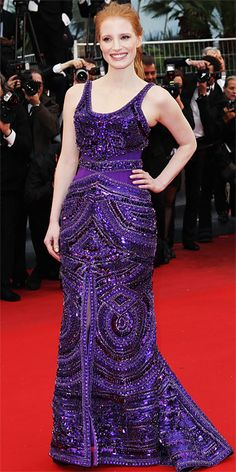 Jessica Chastain in Givenchy Couture in Cannes 2013