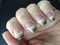 Luck of the Irish nails