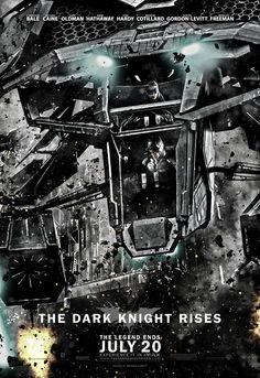 MessenjahMatt.com - The Dark Knight Rises Posters