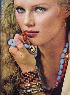 Patti Hansen, 1977.