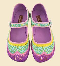 Cute girl shoes: Chocolaticas