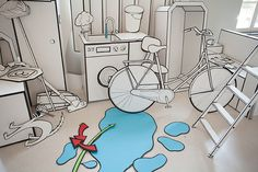 How to make a comic in 3D (work in progress) by Coming Soon , via Behance
