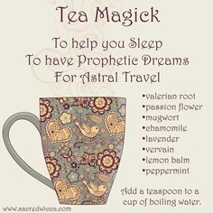 Tea Magick: To help