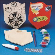 GO Risk! Shields Craft Kit (makes 12)