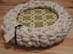 Chunky CAT Bed Giant Knit - Donut PET BED