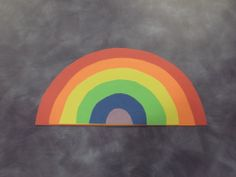 What Happens In Storytime...: Storytime - Colors of the Rainbow. Build a rainbow with semi-circles.
