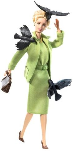 Hitchcock's 'The Birds' Barbie. Awesome!