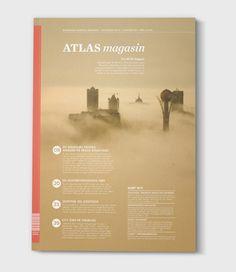 Atlas Magazine Redesign by Christoffer Birkkjaer