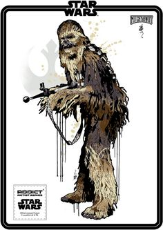 Addict X Star Wars Icon Series - Chewbacca