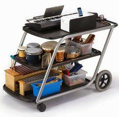 Music on a Cart.