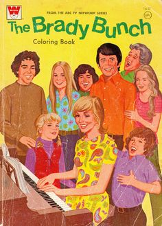 the brady bunch  coloring book