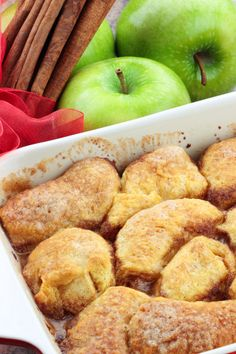 These dumplings are the apple of our eye. Happy Apple Dumpling Day! What is your favorite topping for a scrumptious apple dumpling?