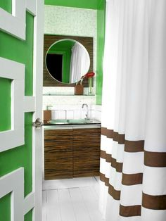 Get Creative in 15 Simply Chic Bathroom Tile Design Ideas from HGTV