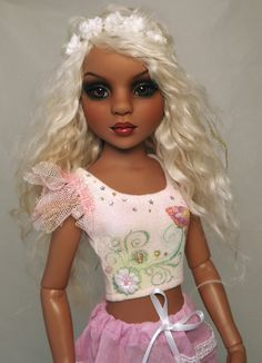 OOAk All Natural Spice Lizette Ellowyne Harmony by Halo other clothing and accessoiries by Empire