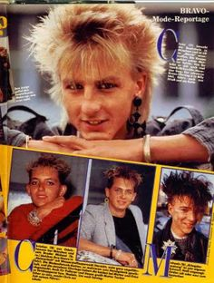 1984 hairstyles