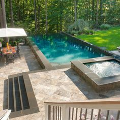 Traditional Home Above Ground Pool Design, Pictures, Remodel, Decor and Ideas swimming pools, dream come true, spa design, pool designs, outdoor spaces, outdoor design, traditional homes, bar designs, space design