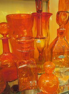 orange glass