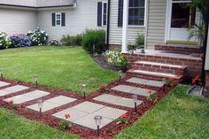 Walkway Designs Ideas | Front Yard Landscaping | HouseLogic