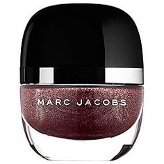 From rich creams to fine glitters, these chip-resistant lacquers from Marc Jacobs offer high-shine and unexpected shades that get noticed. #Sephora #MarcJacobs #DailyObsession #NailPolish