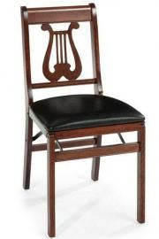 Music Folding Chair - Set of Two