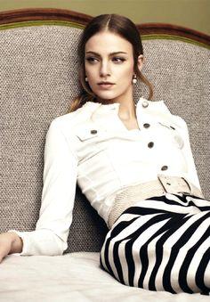 jacket, fashion, style, white, beauti, france, stripes, cosmopolitan franc, black