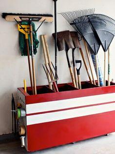 File Cabinet Garage Organizer