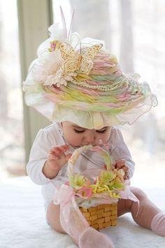 Floral Bonnet Baby