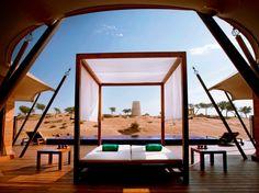 The desert is on your doorstep in all 133 of Banyan Tree Al Wadi's tented villas.