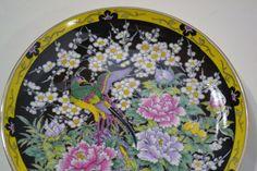 Vintage Decorative Plate Japan Floral Pheasant by PanchosPorch, $15.00