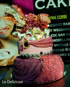 Carnevale veneziano   Mardi gras cake