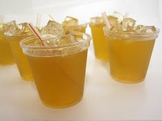 My Jello Americans: Peach Iced Tea