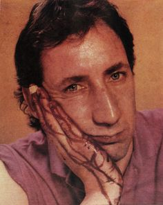 Pete Townshend, photographed by Annie Leibovitz, 1980.