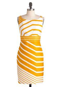 Sweet as Honeycomb Dress, #ModCloth