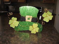 Wood Leprechaun Hat, St. Patrick's Day Crafts